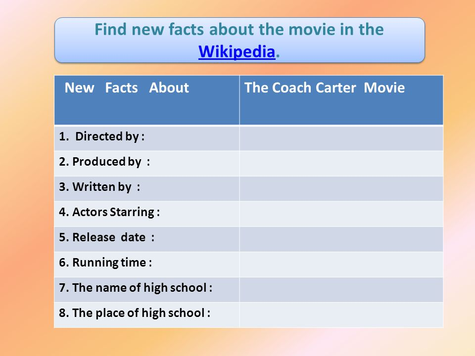 coach carter questions and answers