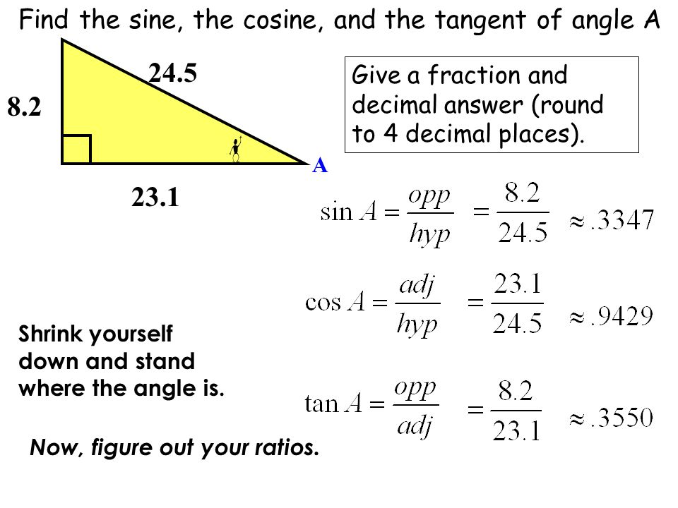 Solving oblique or scalene triangles examples, use of sine and.
