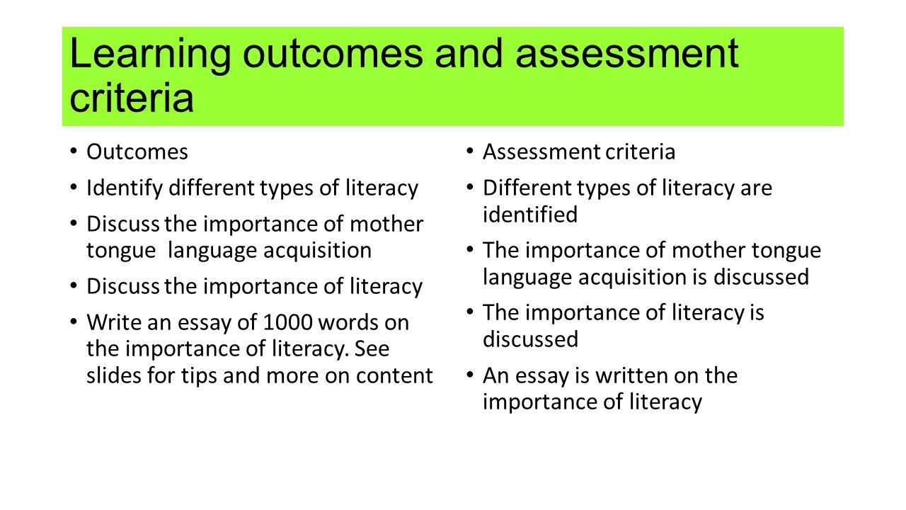 academic literacy skills