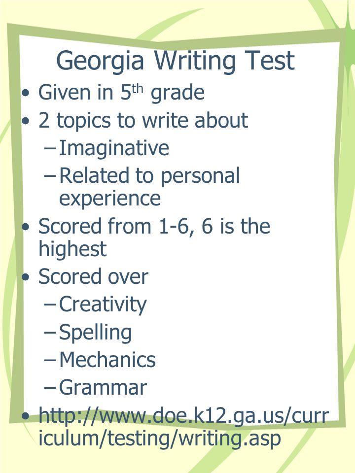 Interdisciplinary Writing Unit: Narrative, 4 th Grade
