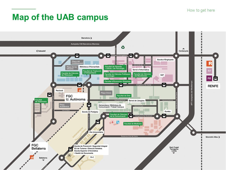 Universitat Autònoma de Barcelona A campus to study on and ...