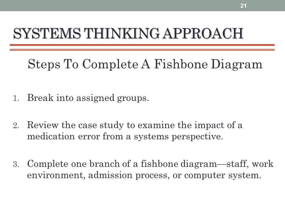 Patient safety and quality improvement educational strategy ppt systems thinking approach steps to complete a fishbone diagram 1 ccuart Choice Image