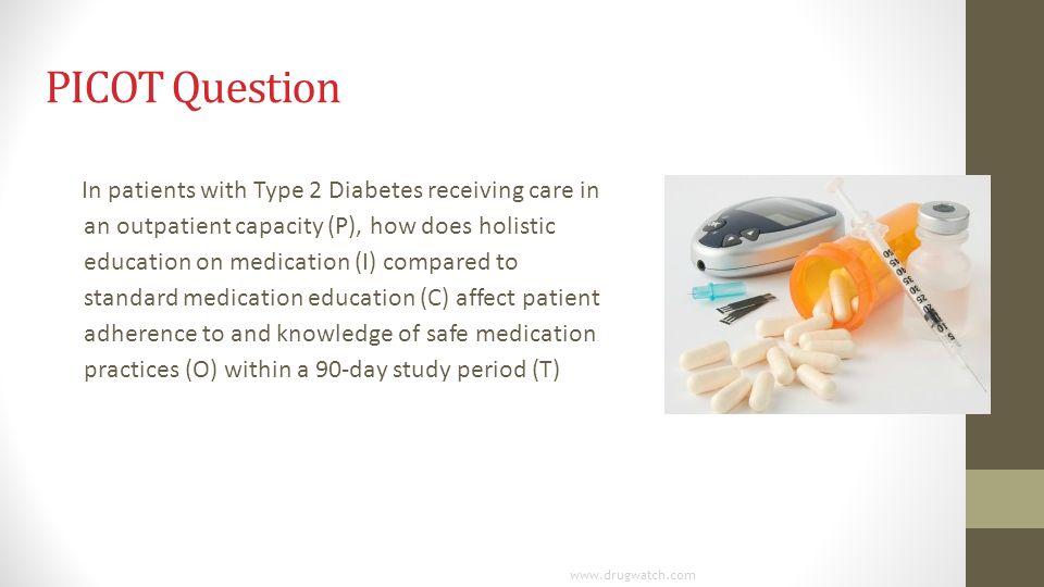 picot question for diabetes
