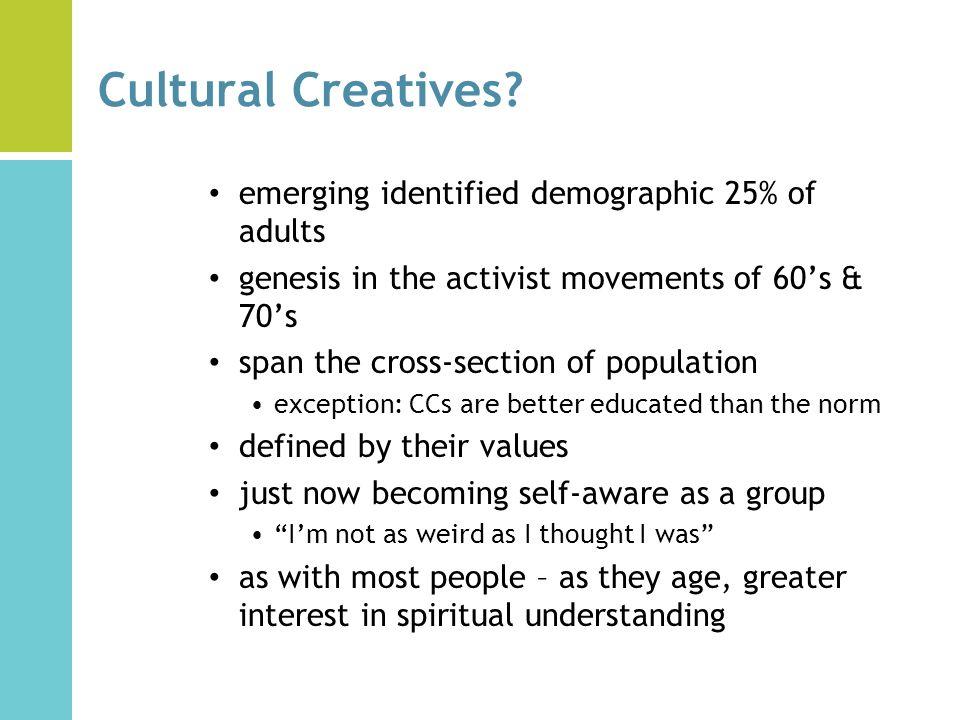 cultural creatives movement
