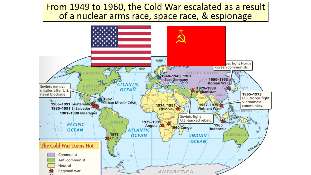post wwii tensions The cold war was a state of political and military tension after world war ii between powers in the western bloc (the united states, its nato allies and others) and powers in the eastern bloc (the soviet union and its allies in the warsaw pact.