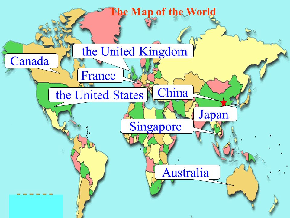 Unit 1 wheres your pen pal from period lets know the 4 the map of the world china the united states canada the united kingdom australia japan singapore france gumiabroncs Choice Image
