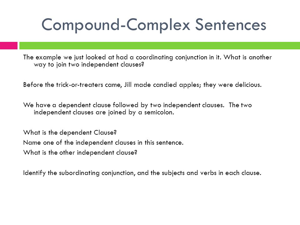 clc writing strategies compound complex sentences ppt download