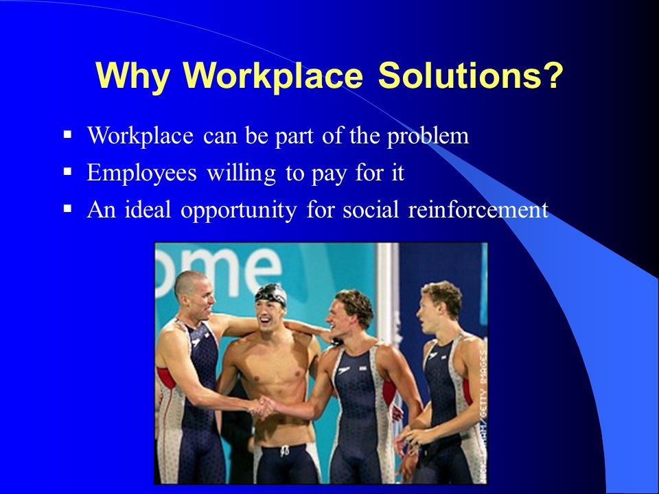 Why Workplace Solutions.