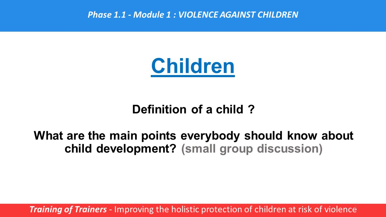 what does holistic mean in child development
