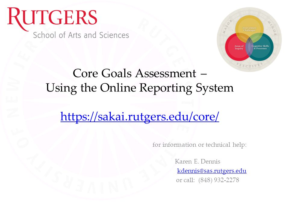 college writing and research rutgers sakai