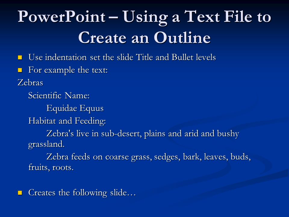 computer information technology section 5 9 powerpoint creating