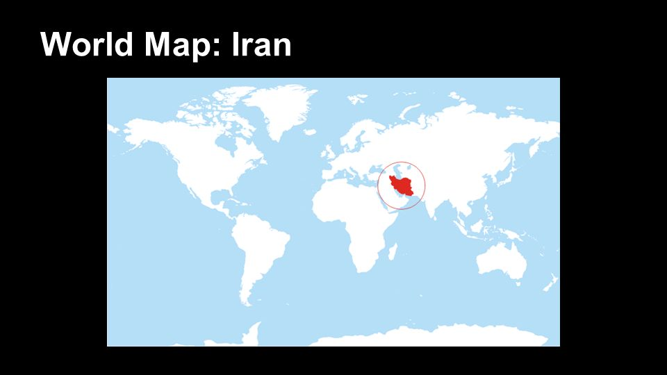Iran conflicts anchitha and atish world map iran ppt download 2 world map iran gumiabroncs Images