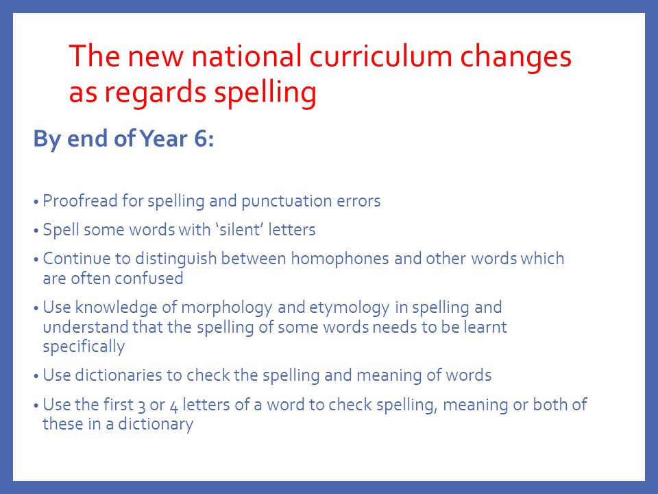Spelling Information Evening Tuesday 1 st March ppt