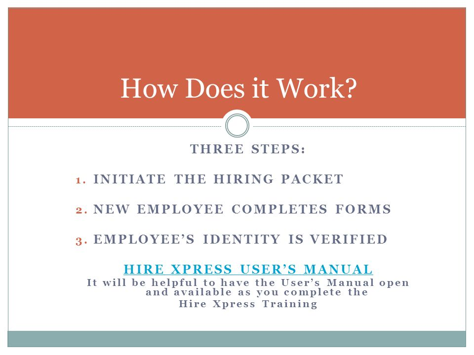 THIS TRAINING IS REQUIRED IN ORDER TO OBTAIN SECURITY TO INITIATE - Employee packet template