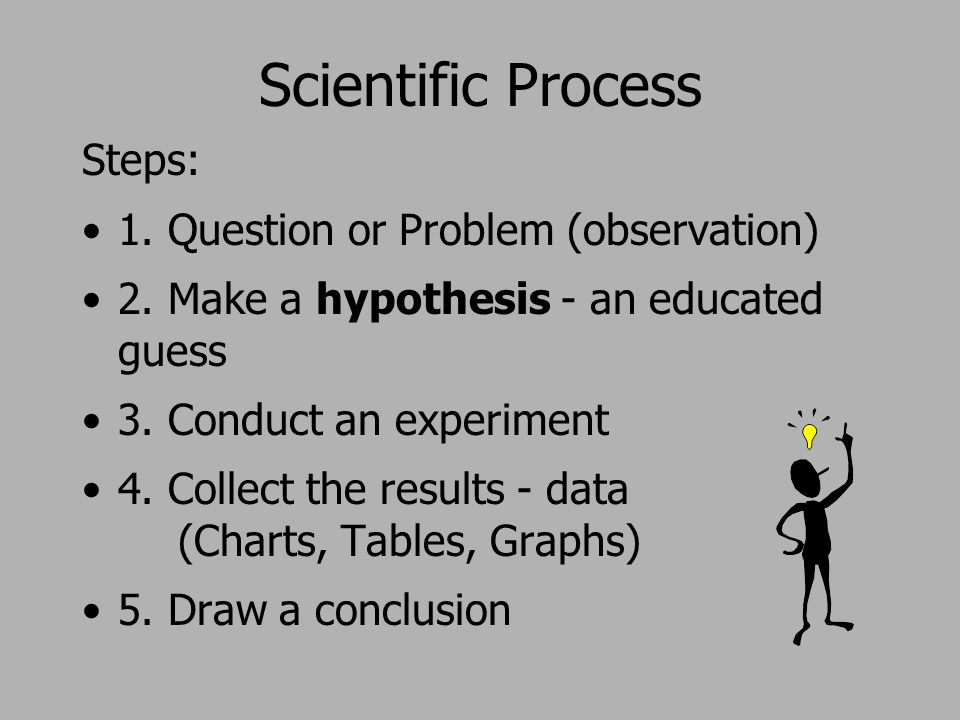 what step in the scientific method follows experiments and observations