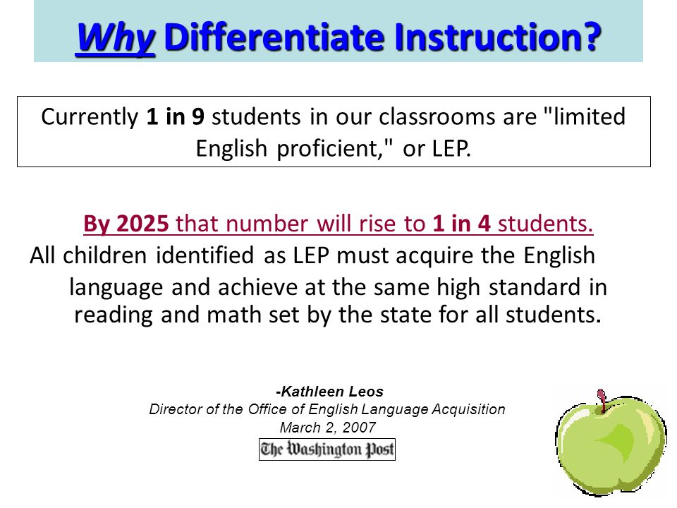 Differentiated Instruction Ells How To Troubleshooting Manual