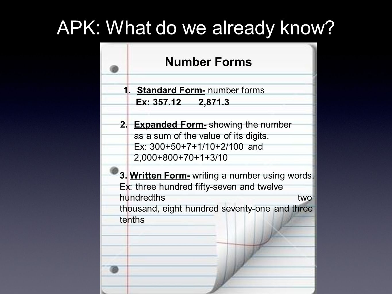 Expanded Form And Super Expanded Form 5nbt3a Apk What Do We