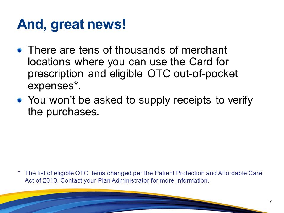 Important Information About Prepaid Benefits Cards Flexible