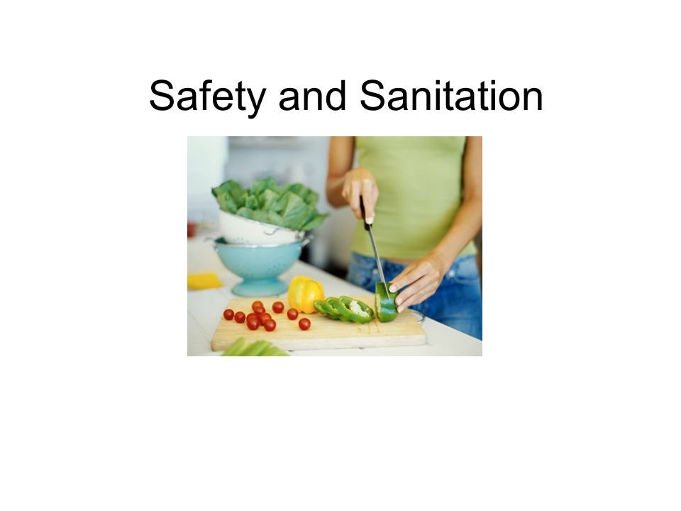 safety and sanitation food safety the basics four golden rules