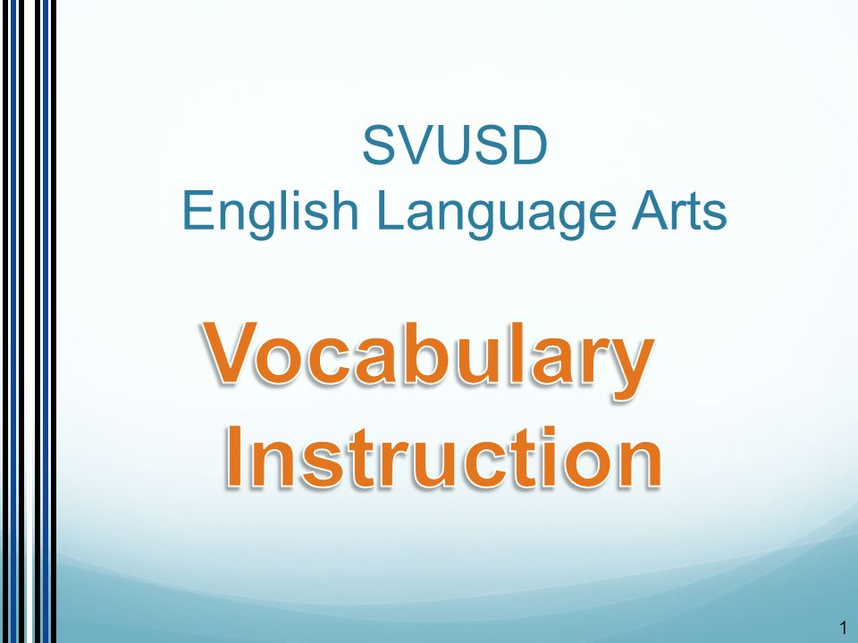 1 Svusd English Language Arts 2 Todays Objectives Review What