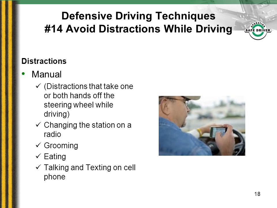 Defensive Driving/Driver Review Part II  Defensive Driving