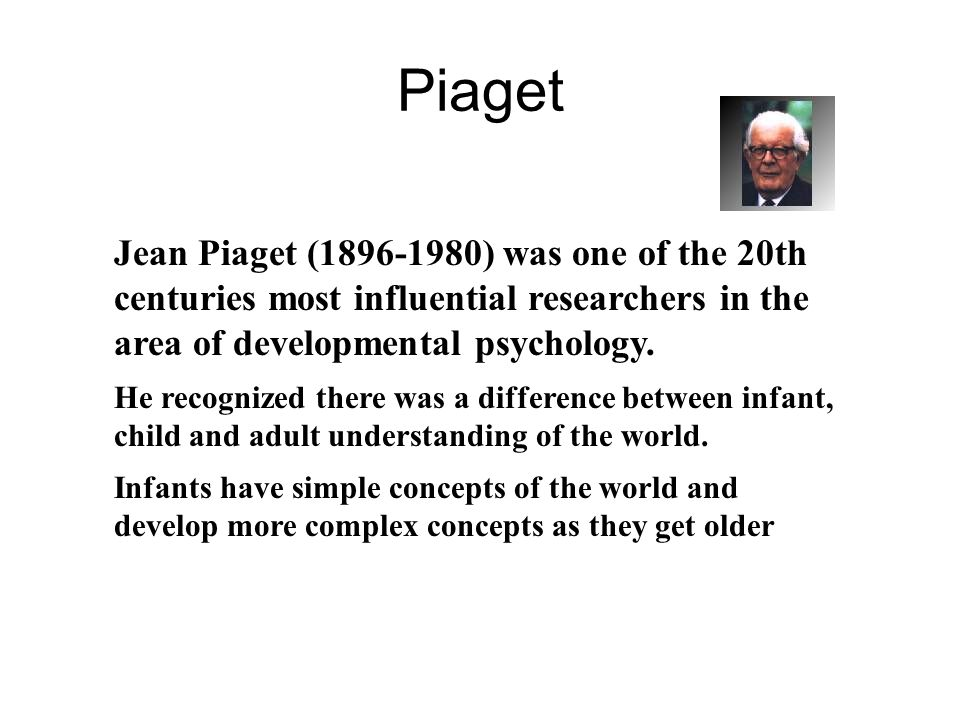 jean piaget attachment theory