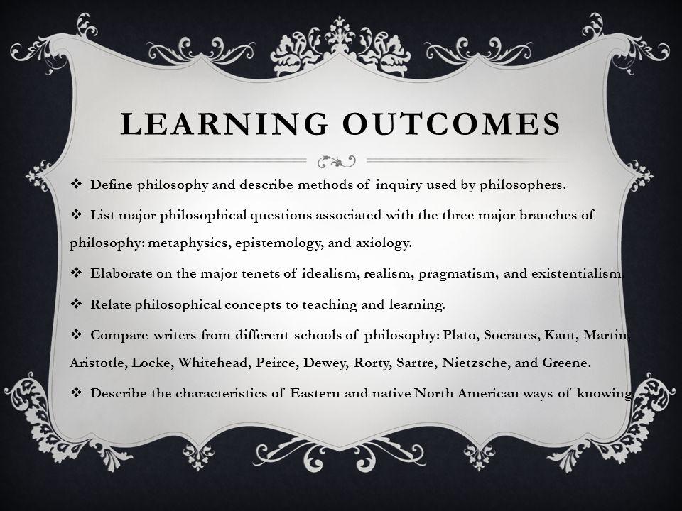 principles of idealism school of philosophy
