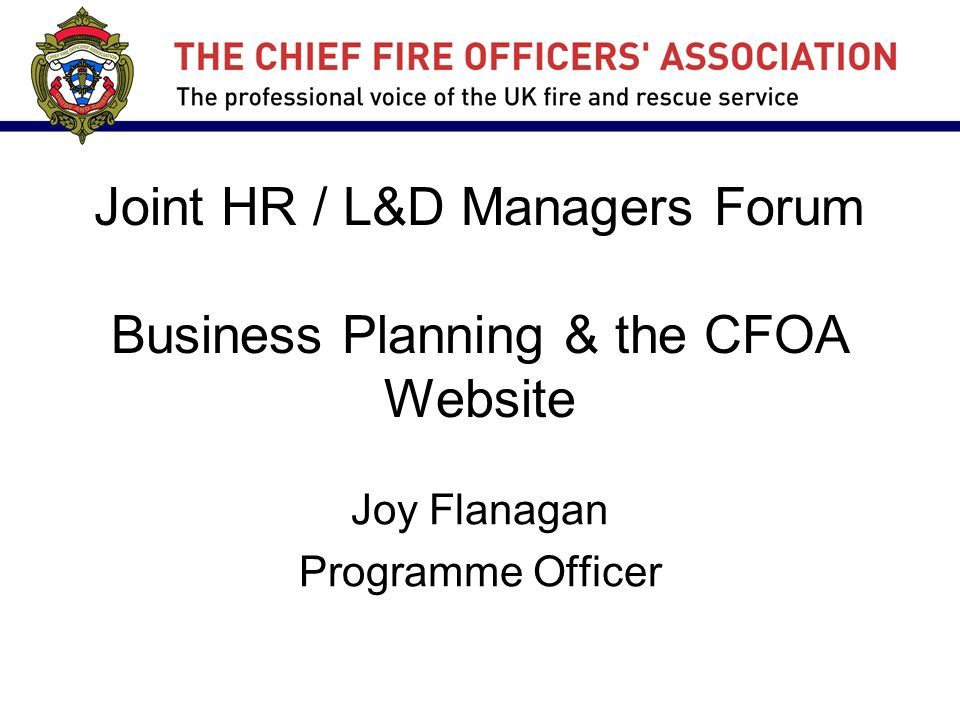 cfoa business plan