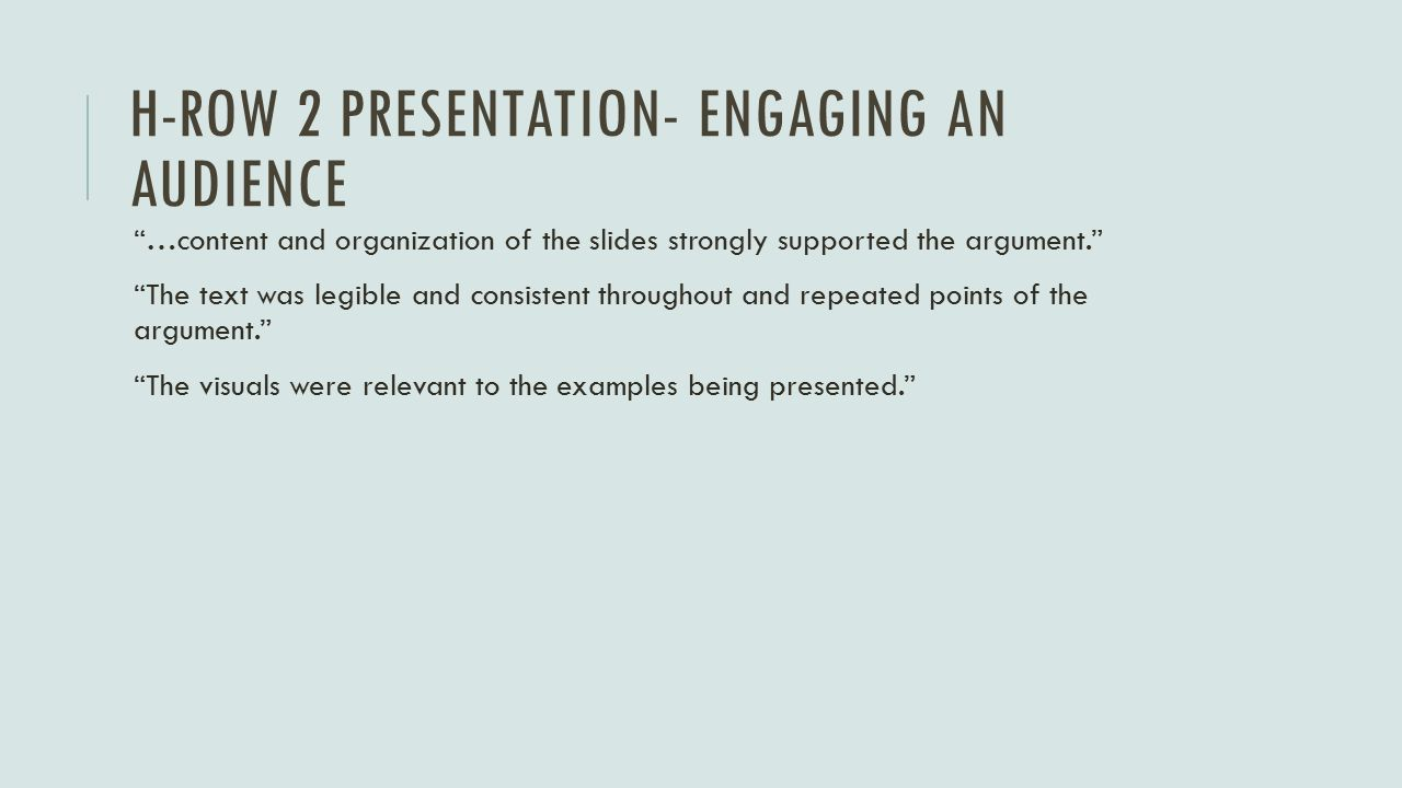 10 minute presentation examples