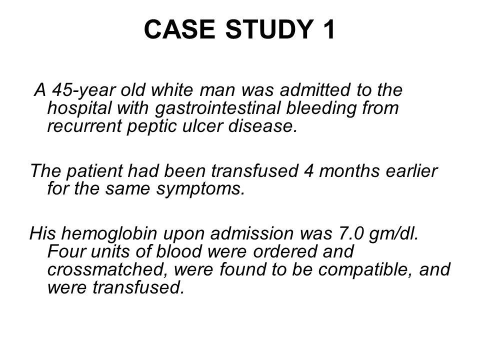 hesi case study peptic ulcer disease