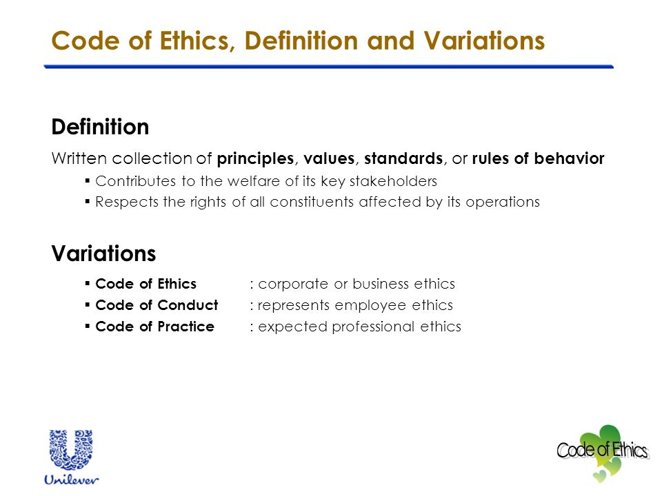 management of international business code of ethics a case study on
