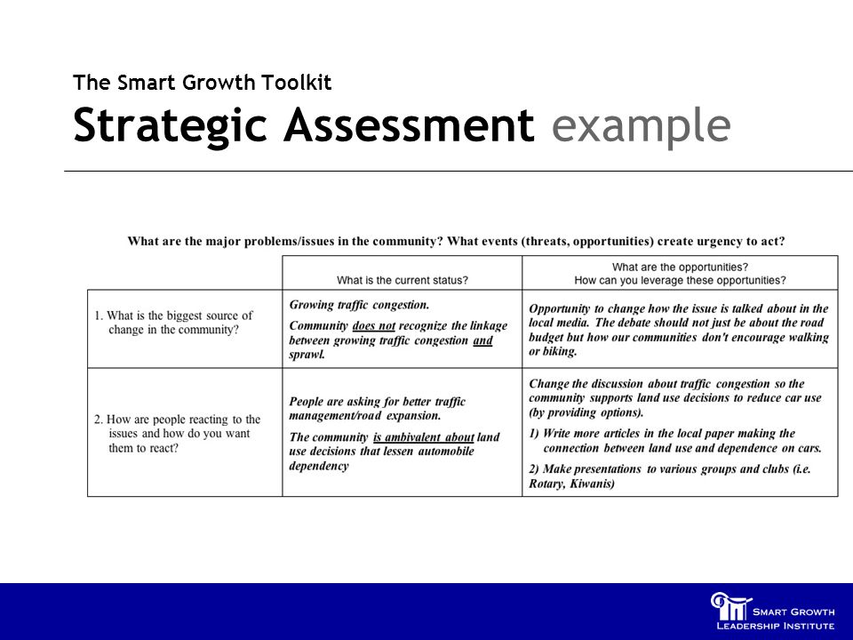 The smart growth implementation toolkit smart growth leadership.
