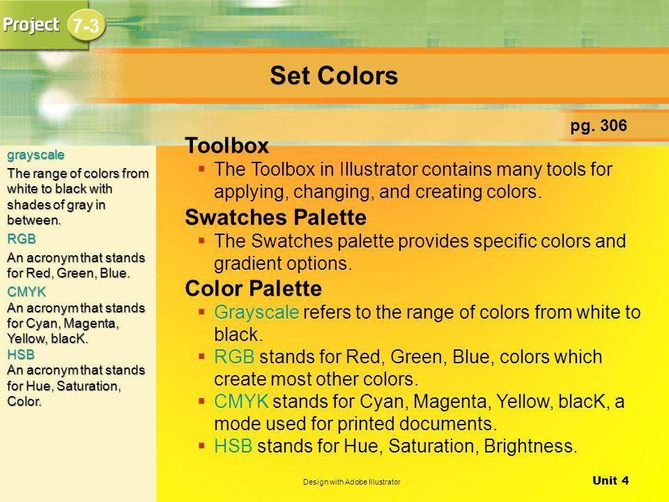 Unit 4 Design with Adobe Illustrator Introducing Adobe