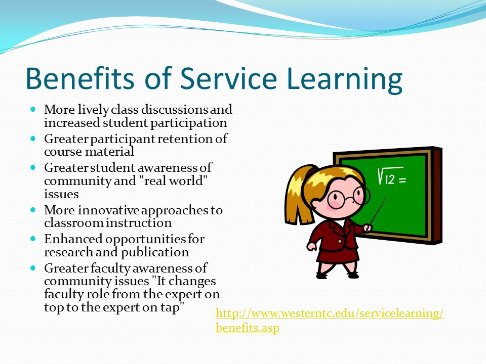 Robert claude davis iii service learning service learning is a 4 benefits thecheapjerseys Choice Image