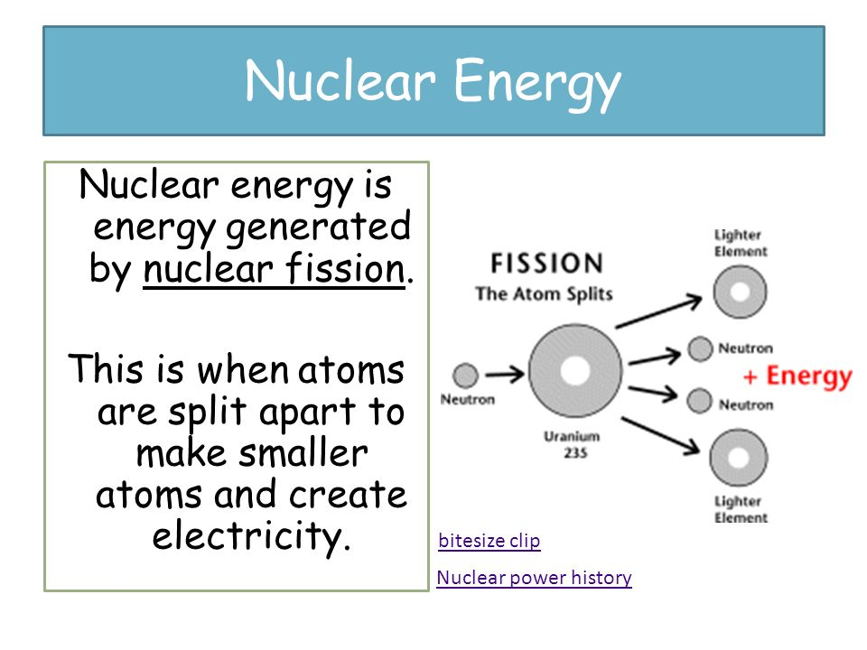 understanding how nuclear energy is produced from the atom level Near the end of the 19th century, it was widely accepted that the atom was neutral as a whole, and had areas of concentrated negative lumps within a larger positive structure this model of the atom was called the plum pudding model, where the pudding was positive, and the plums were the negative.