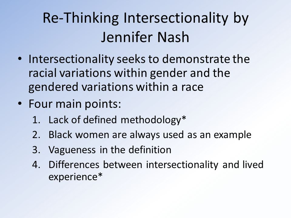 Intersectionality What It Is And Why It Matters By Mikaela