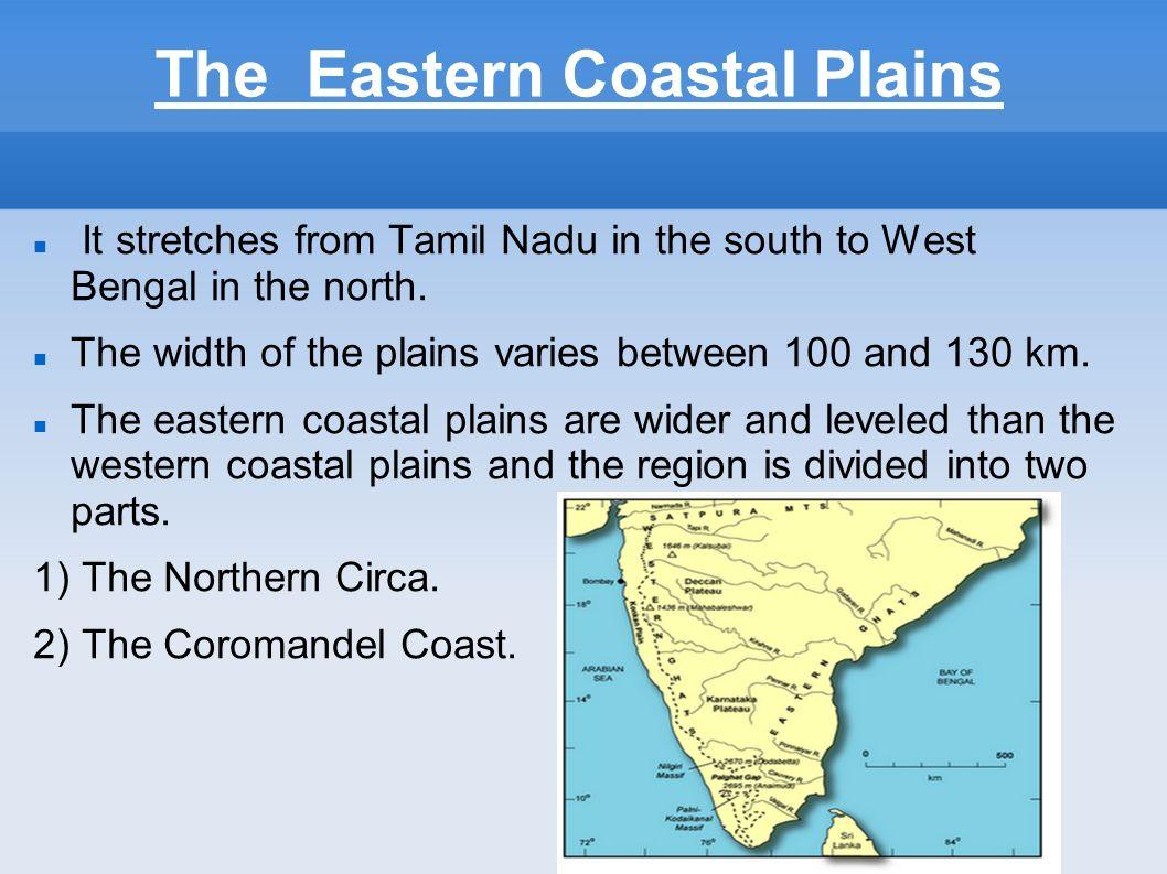 eastern coastal plains