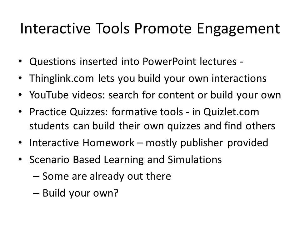 Tools of Engagement for Online Learning Dr  Deborah Taylor Kansas