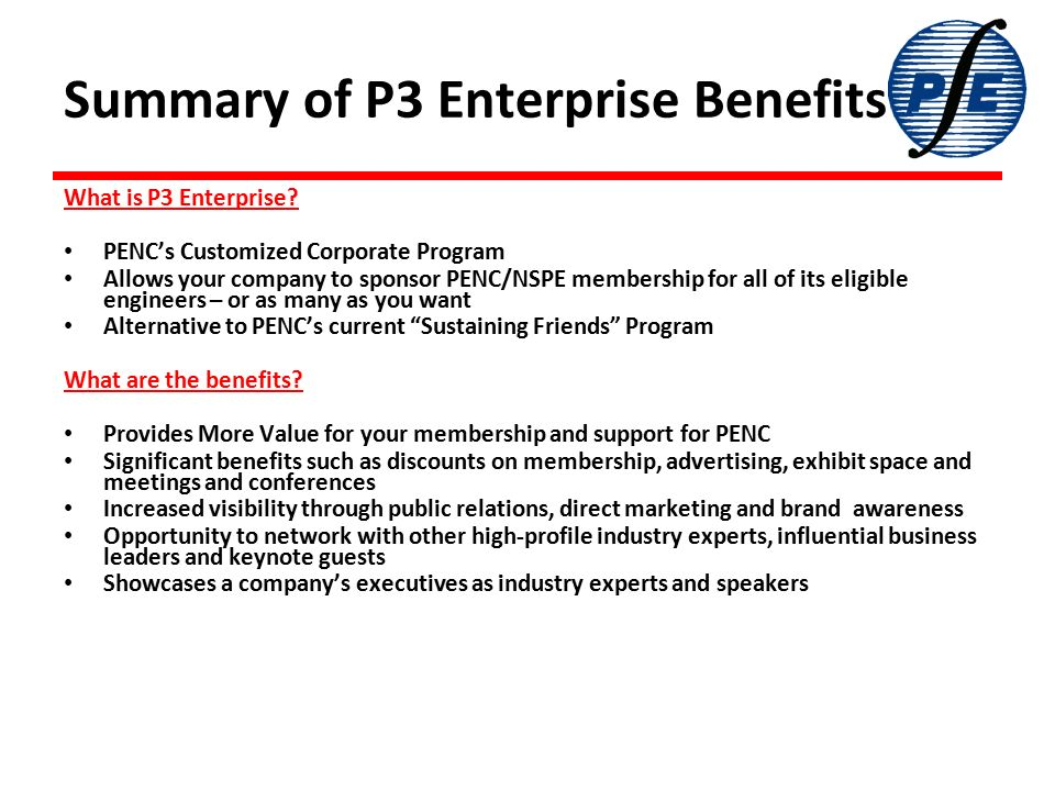 Introducing PENC's Powerful Partner's Program Designed with