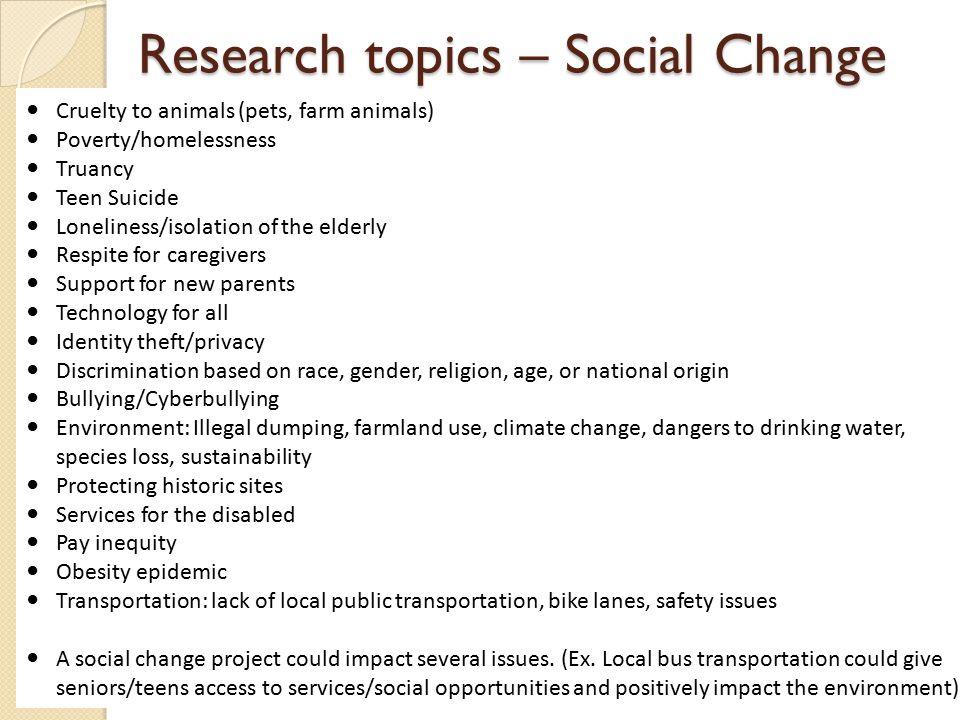 gender discrimination research topics