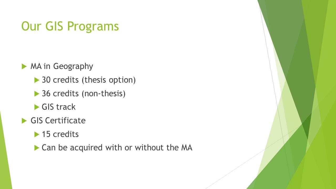 Graduate Gis Programs At The University At Albany James Mower