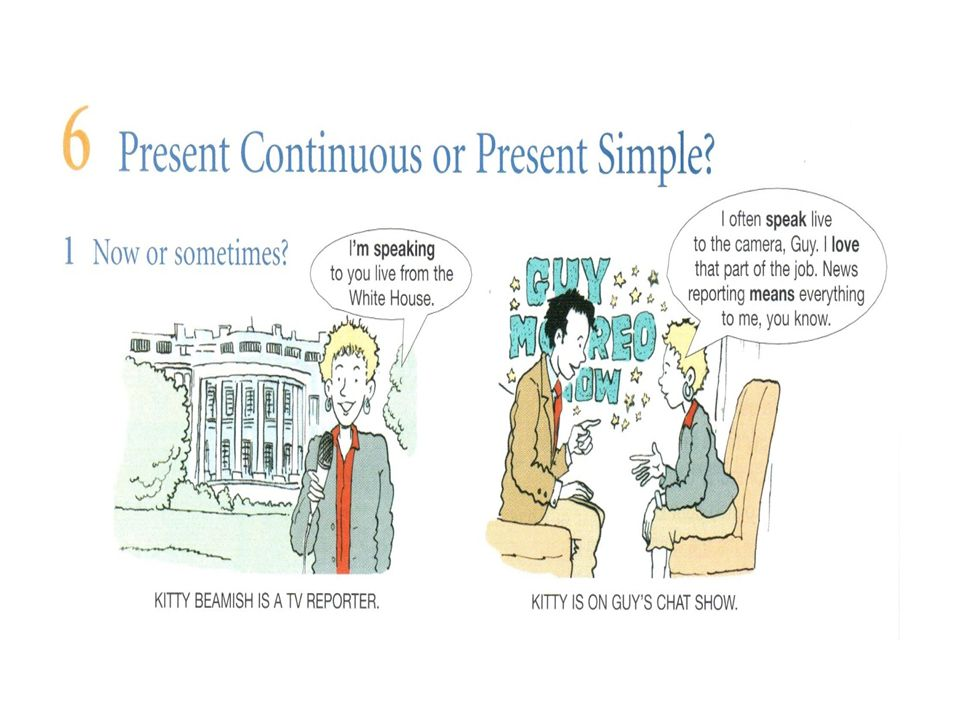 5 Present continuous or present simple  To describe things that are  generally true (present simple) To talk about actions in progress at the  moment of ... fc67642dbcc3b