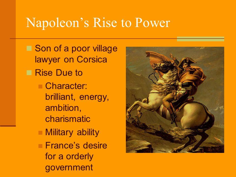 napoleons rise to power