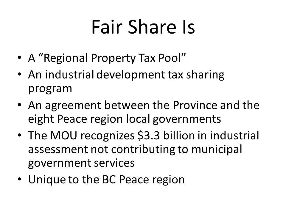 Understanding Fair Share Fair Share Is Not Fair Share Is Not A