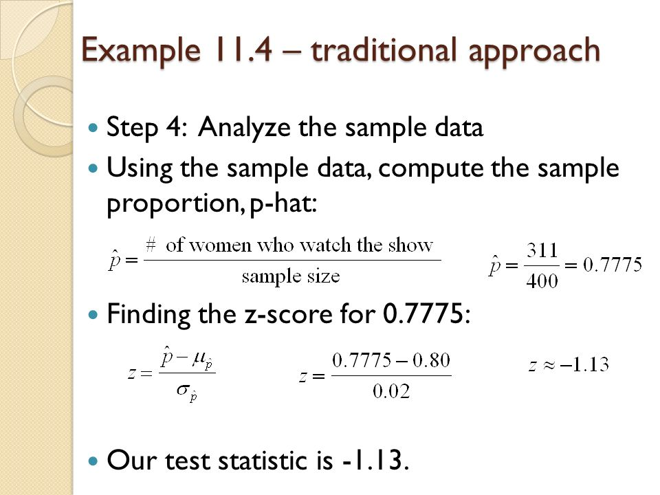 Hypothesis Testing Involving One Population Chapter 11 4