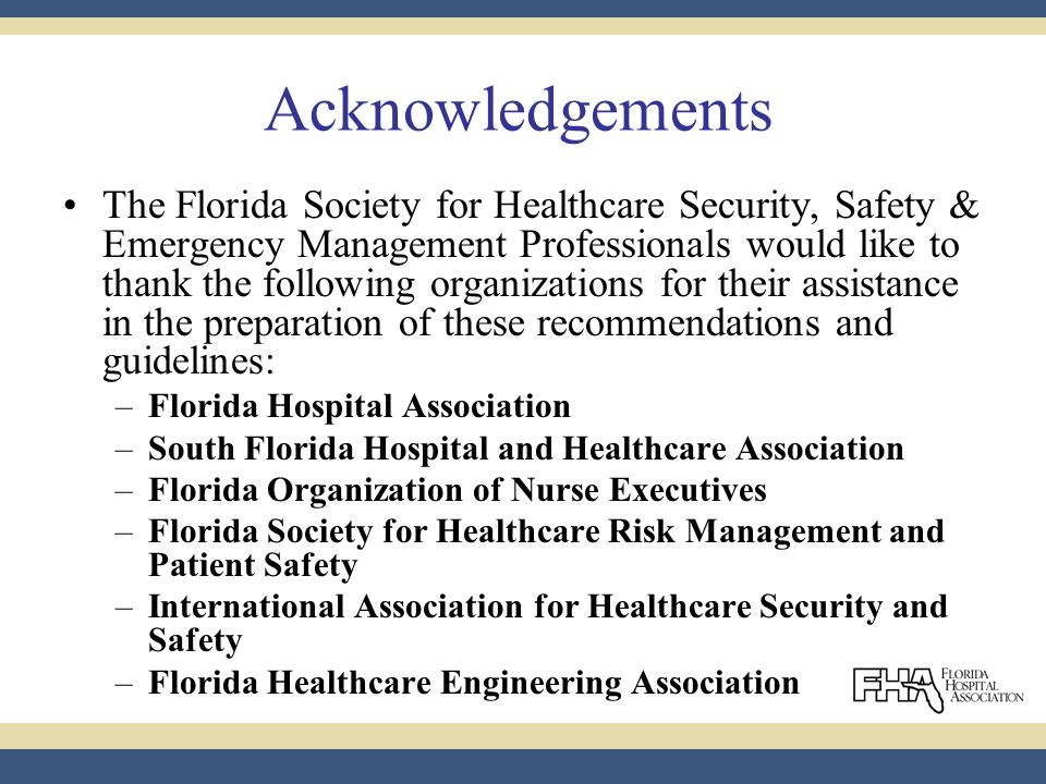 2009 STANDARDIZED HOSPITAL OVERHEAD EMERGENCY CODES Recommendations ...