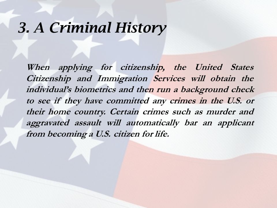 Why Citizenship May Be Denied (Form N-400) U S  Immigration Center