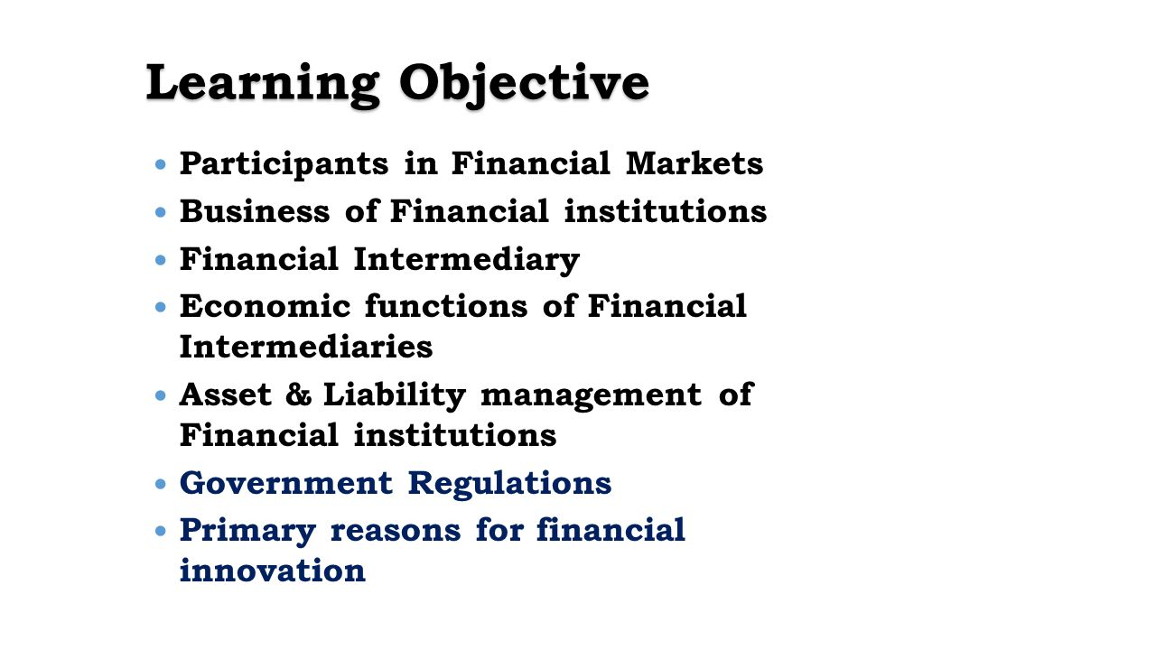 Financial markets. Participants in financial markets. Functions of financial markets 20