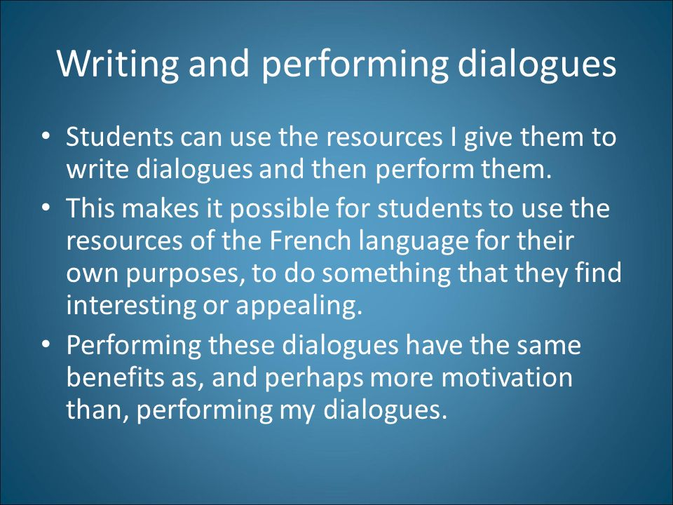 French I: My Approach to this Course Matthew DeCoursey LIN