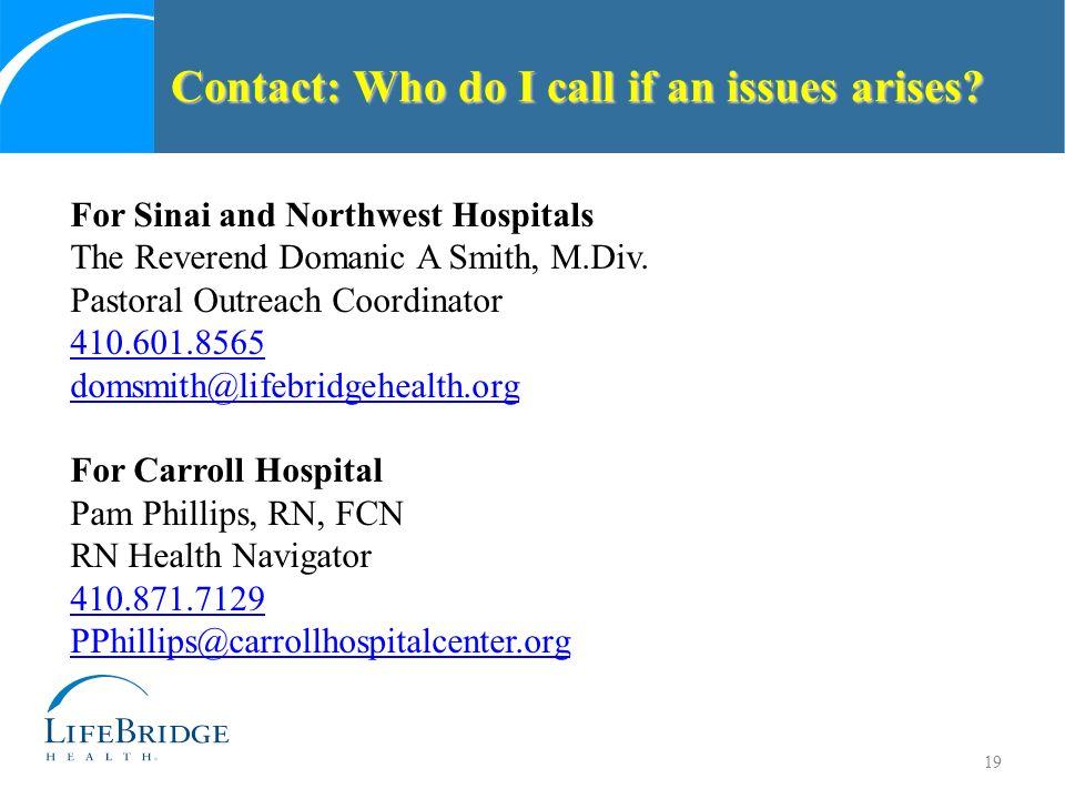 Maryland Faith Community Health Network Liaison Training